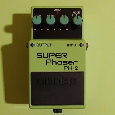Boss PH-2 Super Phaser Black Label ACA 1990