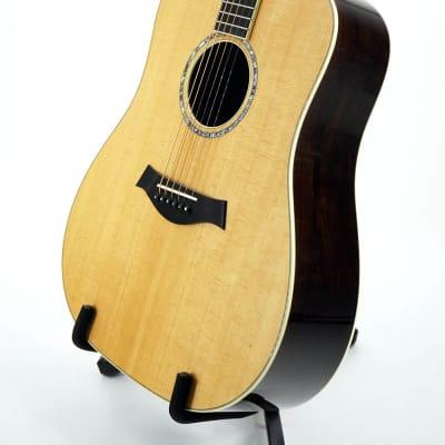 Taylor Custom #9242 Dreadnought Guitar w/ Brazilian Rosewood & Torrefied Spruce - Display Model