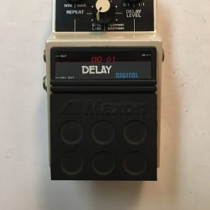 Maxon DD-01 Stereo Digital Delay Rare Vintage Guitar Effect Pedal MIJ Japan for sale