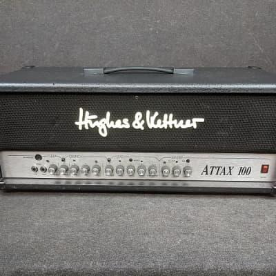 Hughes & Kettner ATTAX 100 3-Channel 120-Watt Hybrid Guitar Amp Head