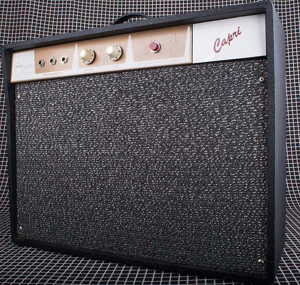 1960's Alamo Capri 2560 1x10 Tube Combo Guitar Amplifier on