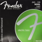 Fender 9050L Stainless Flatwound Electric Bass Strings - LIGHT, 45-100 image
