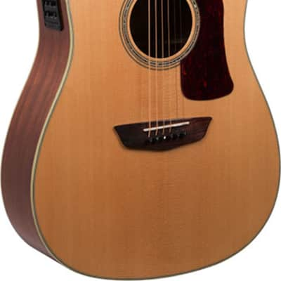 Washburn - HD100SWCEK-D-U - Heritage Solid Dreadnought Acoustic Electric Guitar