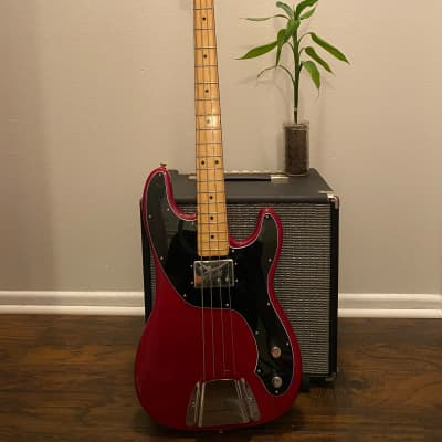 1972 Fender Telecaster Bass Trans Red for sale