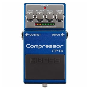 Boss CP-1X Compressor Blue