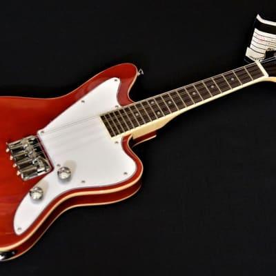 Revelation RJM60 Electric Jag Mandolin with hidden pickup Red for sale