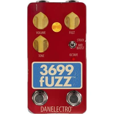 Danelectro 3699 Fuzz Effect Pedal for sale
