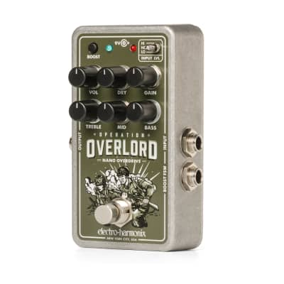 Electro-Harmonix Nano Operation Overlord Overdrive / Distortion. New with Full Warramty!