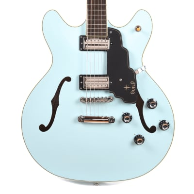 Guild Starfire IV ST Maple Hollowbody Sky Blue for sale