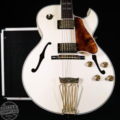 Gibson L4 10th Anniversary - Diamond White/Engraved Gold Guitar