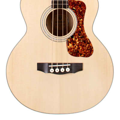 Guild Jumbo Junior Acoustic-Electric Bass Guitar Flamed Maple for sale