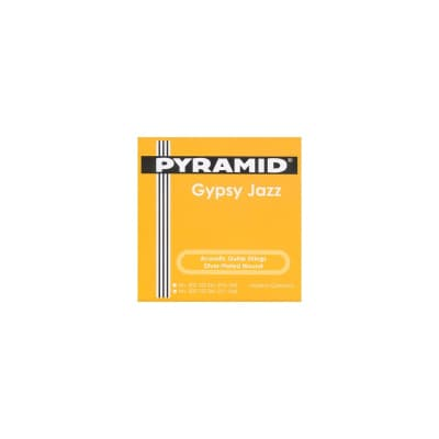 Pyramid Acoustic Guitar Gypsy Jazz Django Style Loop End Light 11-46