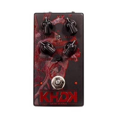 KHDK Electronics Dark Blood Kirk Hammett Signature Distortion Pedal