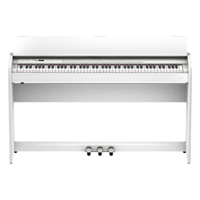 Roland F701-WH Modern Design Piano - White