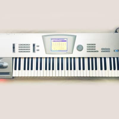 KORG Trinity Plus 61 Synthesizer Workstation 61-Key Keyboard. Made in JAPAN. Works Great !