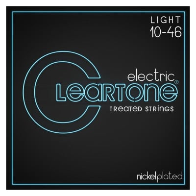 Cleartone Nickel Plated 10-46 Light Electric Strings