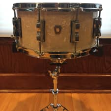 """Ludwig Classic Maple 14"""" x 6.5"""" Snare Drum Vintage Marine Pearl"""