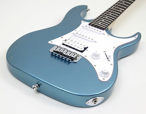 Ibanez Grx40z Mlb Gio Series Hss Metallic Light Blue Reverb