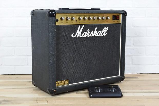 marshall jcm800 lead series 1 x12 50 watt tube vintage amp reverb. Black Bedroom Furniture Sets. Home Design Ideas
