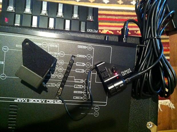 Roland Gr 50 Rackmount Guitar Synth Set Up Reverb