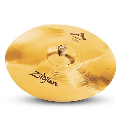 """Zildjian 20"""" A Custom Sizzle Ride Cymbal"""