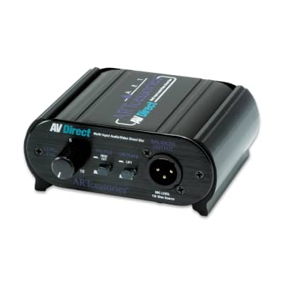 ART AVDIBOX Multi-Input Audio/Video Passive AV Direct Box (B-STOCK)
