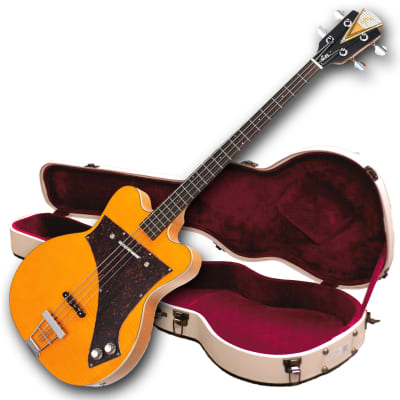 "Demo - Kay Reissue ""Limited Production"" Jazz Special Bass Guitar - FREE $250 Hard Shell Case! for sale"