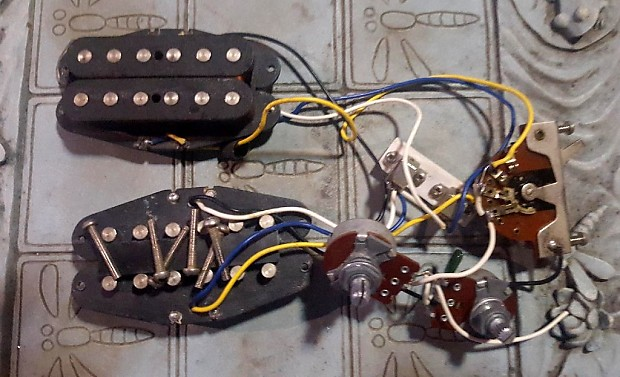 fender mij bullet wiring harness 80 39 s with original reverb. Black Bedroom Furniture Sets. Home Design Ideas