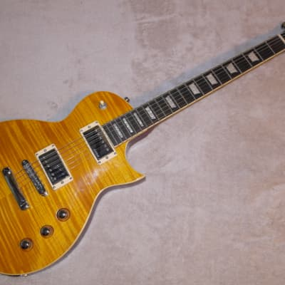 Harley Benton SC Custom Honey AAAA Flame Maple Top! for sale