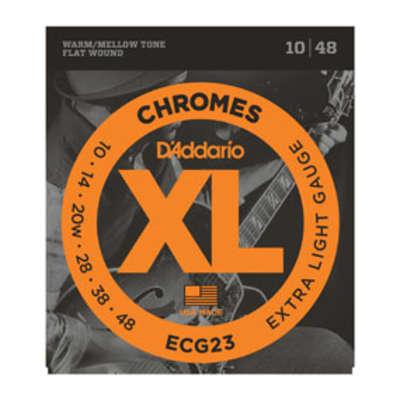 D'Addario XL Chromes 10 ECG23