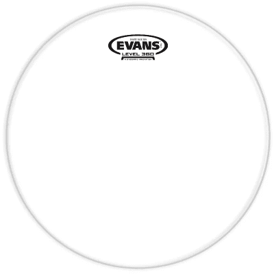 """Evans S08H30 Clear 300 Snare Side Drum Head - 8"""""""