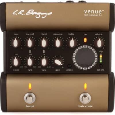 LR Baggs Venue DI Acoustic Preamp EQ/DI/Tuner Pedal for sale