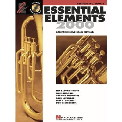 Essential Elements 2000: Comprehensive Band Method - Baritone B.C. | Book 2 (w/ CD)