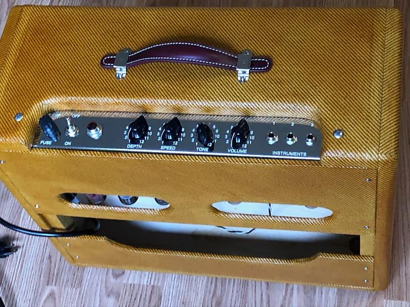 Deluxe 5f11 Tweed Fender Vibrolux Clone Reverb