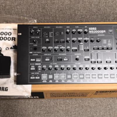 Korg MS2000BR analog modeling synthesizer with original box / Free shipping
