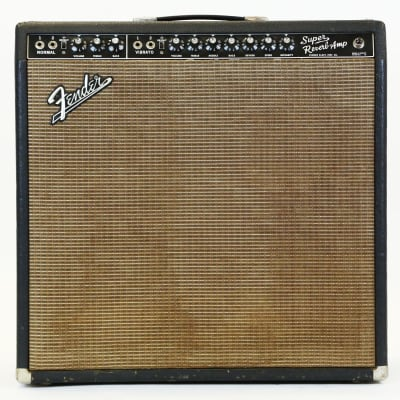 "Fender Super Reverb 2-Channel 40-Watt 4x10"" Guitar Combo 1963 - 1967"