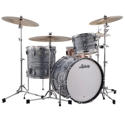 "Ludwig Classic Maple Fab Outfit 9x13 / 16x16 / 14x22"" Drum Set"
