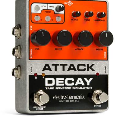 Electro Harmonix Attack Decay Tape Reverse Simulator Pedal for sale