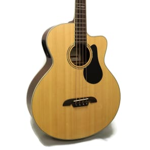 Alvarez AB60CE Artist Series Cutaway Acoustic Bass w/ Electronics Natural