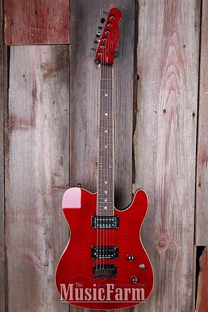 Fender® Special Edition Custom Telecaster FMT HH Electric Guitar Tele B  STOCK