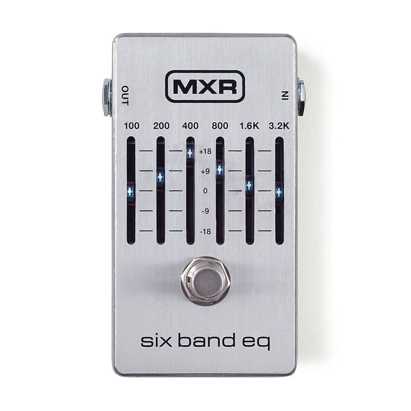 MXR M109S 6 Band Graphic Equalizer EQ Pedal