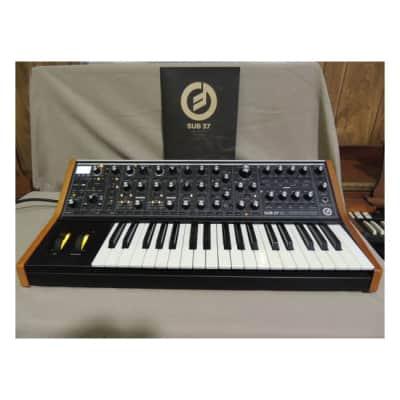 Moog Sub 37 Praphonic analog synthesizer