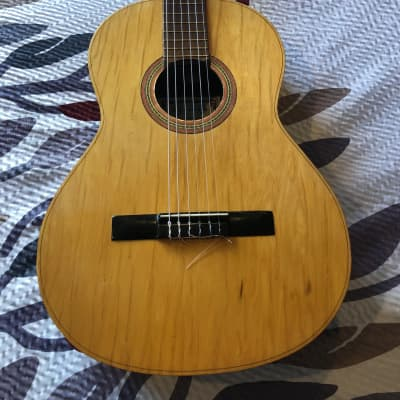 Gracia  Model A Classical Acoustic Guitar Made In Agentina w/RC Baritione Nylon Strings Garcia for sale