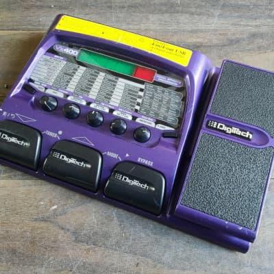 Digitech VX400 Vocal Effects Modelling Floor Processor w/USB Audio Interface for sale
