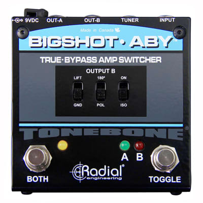 Radial BigShot ABY True Bypass ABY Switcher Pedal Demo Used