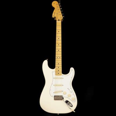 Jimi Hendrix Stratocaster, Maple Fingerboard, Olympic White