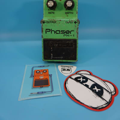 Boss PH-1 Phaser | Rare (1978) Long Dash/Silver Screw | Made in Japan | Fast Shipping!