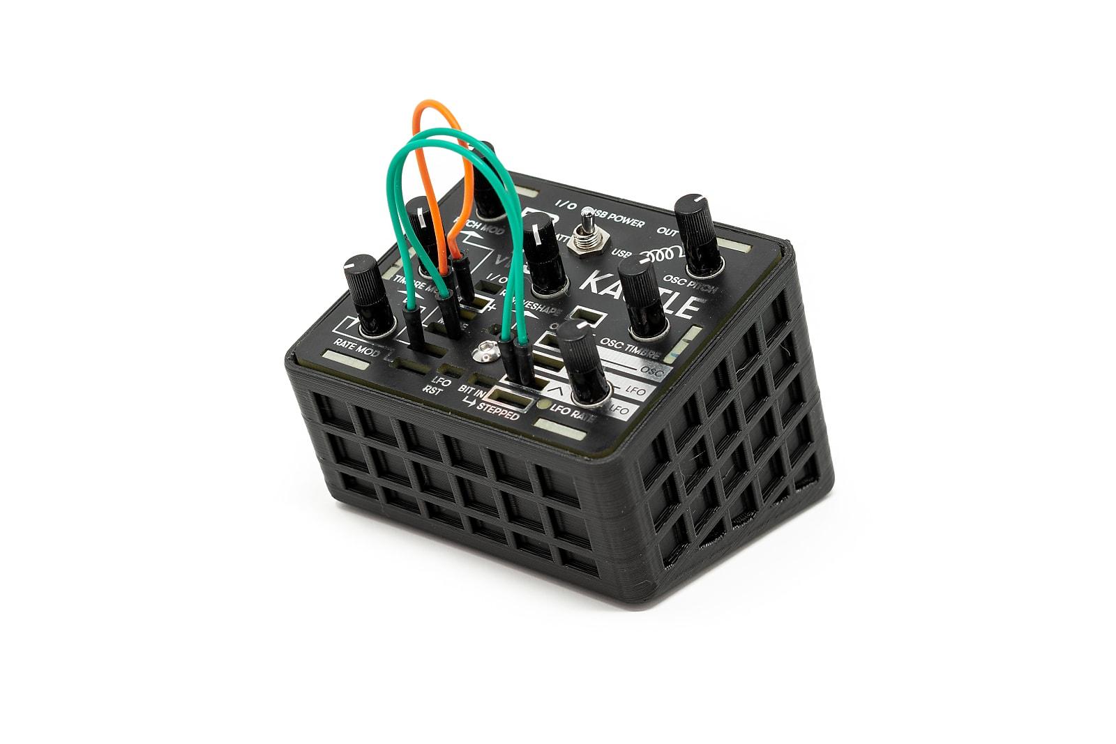 3DWaves BK Stands For The Bastl Instruments Kastle v1.5 Mini Modular Synthesizer