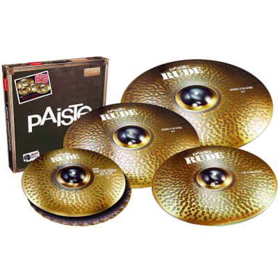 "Paiste 112BS18 RUDE Big Sound Box Set 14/18/20/22"" Cymbal Pack"