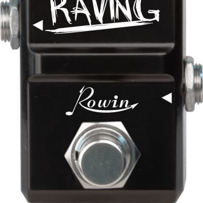 Rowin LN-305 Raving NANO Series Classic 80's Hiwatt type British DISTORTION True Bypass Ships Free
